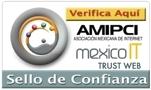 Certificado y Sello de Confianza. Otorgado por la Asociación de Internet MX
